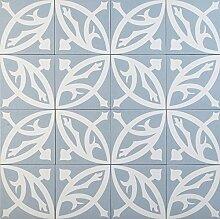 Orientalische marokkanische Wandfliese 20 x 20 cm