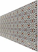 Orientalische marokkanische Wandfliese 28 x 14 cm