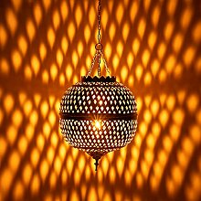 Orientalische Messing Lampe Deckenlampe Leuchte