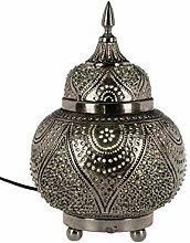 Orientalische Messing Tischlampe Lampe Farhana