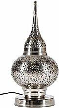 Orientalische Messing Tischlampe Lampe Hayati 45cm
