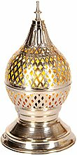 Orientalische Messing Tischlampe Lampe Ishrat 34cm