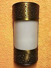 Orientalische Messing Wandlampe Wandleuchte Suha