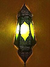 Orientalische Orient Wandlampe lampe Indira Grün
