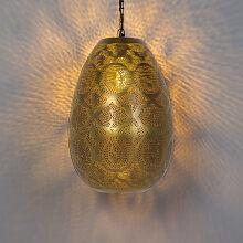 Orientalische Pendelleuchte Gold - Zayn 1