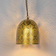 Orientalische Pendelleuchte Gold - Zayn 3