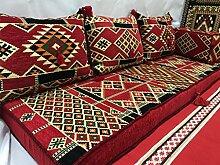 Orientalische Sitzecke,Bodenkissen,Orientalische Sitzgruppe,Orient Sitzecke,Yogakissen,Orientalisches Sofa ,Sitzkissen Orient-Designs das Original aus dem Arabischen Golf