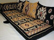 Orientalische Sitzecke,Kilim Kissen,Kilim Bodenkissen,Kilim Teppich ,Arabisch 5 teilig