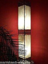 Orientalische Stehlampe Koutoubia Natur 120cm