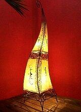 Orientalische Stehlampe Marrakesch Natur 100cm