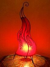 Orientalische Stehlampe Mogador Rot 60cm