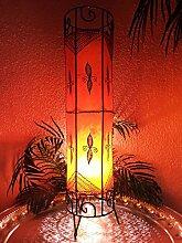 Orientalische Stehlampe Neslihan orange 80cm