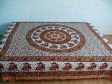 Orientalische Tagesdecke Bettüberwurf Sofaüberwurf Überwurf Plaid Indien
