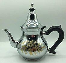 Orientalische Teekanne Arabische Minze aus Marokko