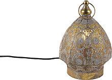 Orientalische Tischlampe Gold 19 cm - Mowgli