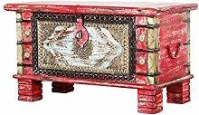 Orientalische Truhe Holztruhe antik Chalil - 80cm