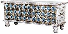 Orientalische Truhe Kiste aus Holz Burhan - 3 -