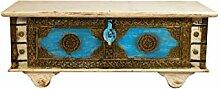 Orientalische Truhe Kiste aus Holz Murali 115cm