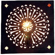 Orientalische Wandlampe 30x30 cm marokkanische