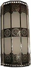 Orientalische Wandlampe Arabische Leuchte Dekoration Schmiedeisen Glas