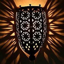 Orientalische Wandlampe marokkanische Eisen