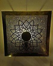 Orientalische Wandlampe Messinglampe Marrakesch