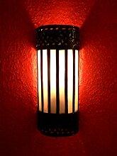 Orientalische Wandlampe Samir weiss