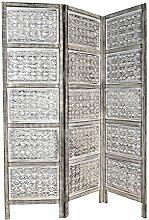 Orientalischer Paravent Raumteiler aus Holz