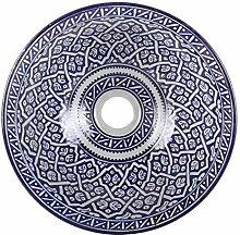 Orientalisches Keramik-Waschbecken Fes118 Ø 35 cm