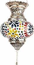 Orientalisches Mosaik Windlicht Hängewindlicht