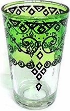 Orientalisches Teeglas   Grün   Ø:6cm  
