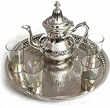 Orientalisches Teeservice | Hammerschlag | Fatima