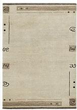 ORIENTTEPPICH 120/180 cm Schlammfarben