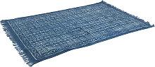 Orientteppich 120x190cm blau - Varanasi