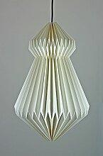 Origami Hängelampe Papierlampe Hängeleuchte