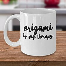 Origami Kaffeetasse Origami Geschenkidee Geschenk