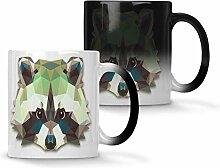 Origami-Waschbär-Tierliebhaber-Neuheit