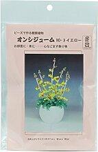Original Bead Kit Blätter Pflanze onsychium NO 3 gelb