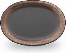 Original Bunzlauer Keramik Aufschnittplatte