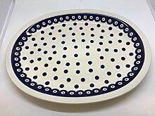 Original Bunzlauer Keramik Aufschnittplatte /