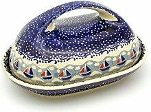 Original Bunzlauer Keramik-Butterdose für 250 g