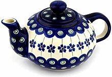 Original Bunzlauer Keramik Teekanne 0,42 Liter im