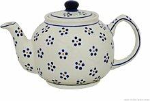 Original Bunzlauer Keramik Teekanne - 1.0 Liter -