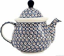 Original Bunzlauer Keramik Teekanne 1.75 Liter im