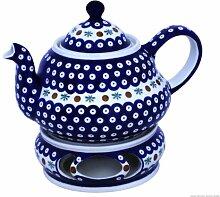 Original Bunzlauer Keramik Teekanne 2,0 Liter mit