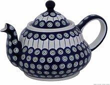 Original Bunzlauer Keramik Teekanne 2.0 Liter mit