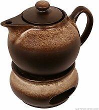 Original Bunzlauer Keramik Teekanne/Kaffeekanne