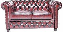 Original Chesterfield Sofa - 2 Sitzer -