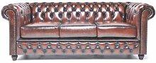 Original Chesterfield Sofa - 3 Sitzer -
