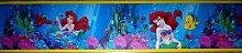 Original Disney Princess Meerjungfrau Ariel Tapete Bordüre 5M x 15 cm Borte Selbstklebend NEU